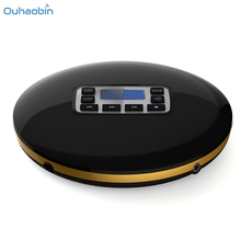 Ouhaobin Hifi Audio CD Player Reminiscent Mini Portable CD Players With LED Display Round Multifunction Musci Player Oct12(China)