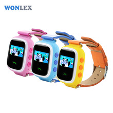 Wonlex New Color Screen Smart Phone Kids GPS Watch Children GW900S GSM SOS GPS Locator Tracker Anti-Lost Remote Monitor