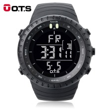 OTS Luxury Brand Military Digital Watch Men Sports Watches 50M Waterproof Swimming Outdoor Climbing Wristwatch relogio masculino(China)