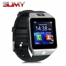 Slimy Best Bluetooth Smart Watch DZ09 SIM Phone Watch Smartwatch with TF/SIM Slot for IOS Android Phone PK U8 GT08 GV18 in Stock(China)