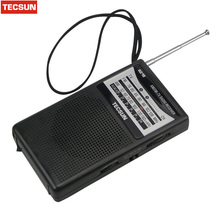Brand New Arrival Best TECSUN R-218 mini 2 Band Broadcasting Receiver Television sound Pointer 76-108MHz Y4155 FM / AM Radio