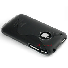S-Line Tpu Soft Silicone Mobil Phone Case Cove For Apple iphone 3 3G 3GS(China)