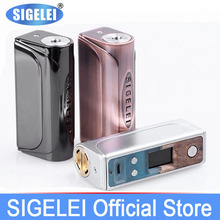 Buy vape mod Stable wood & Zinc alloy Electronic e Cigarette Sigelei Evaya 66W popular vape mod 1*18650 one battery for $41.24 in AliExpress store