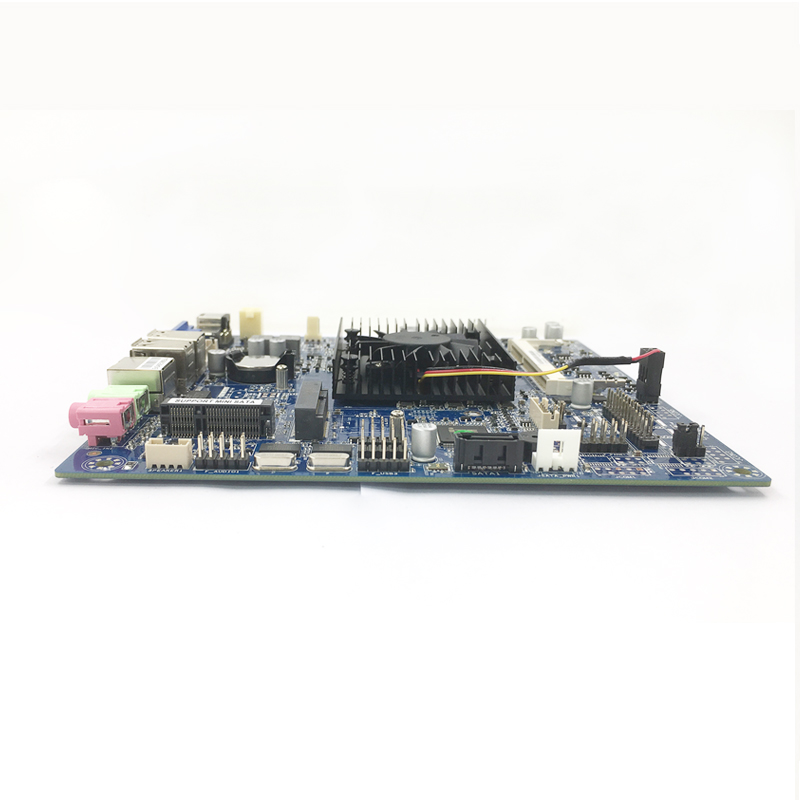 Интернет магазин товары для всей семьи HTB1Ifh9l1uSBuNjy1Xcq6AYjFXaE 17x17 см материнская плата ITX встроенный процессор Intel Celeron N2810 2,00 ГГц DDR3L мини PCI-E mSATA HDMI VGA 6x USB WiFi 12 V 5A