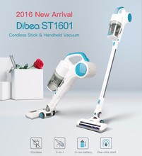 Dibea ST1601 New Handy Cordless Vacuum Cleaner with Cyclonic Technology Light Weight 2-in-1 Stick and Handhold 7Kpa Suction(China)