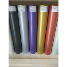 (50cm*1.0m/roll) 5 Color Glitter Cuttable Pu Flex Vinyl Film Heat Transfer Vinyl Film for Fabric Black/Red/Purple/Golden/Silver