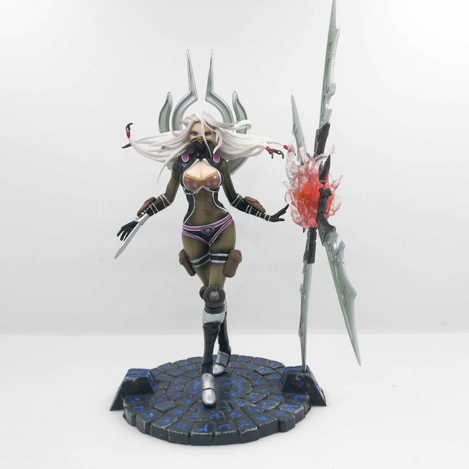 WVW 25CM Sports Game Dolls LOL Lrelia Yasuo Thresh Zed Jinx Play Arts Model PVC Toy Action Figure Decoration For Collection Gift<br>