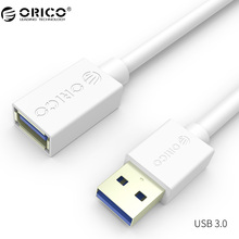 ORICO USB 3.0 Cable Male to Female USB Extension Cable Super Speed USB 3.0 Extender Data Cable 1m 1.5m for Computer PC(China)
