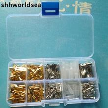 shhworldsea 100set (15000pcs) 6.3MM 2.8MM 4.8MM 4.0MM Mix 10 kinds Female Male Electrical Wiring Connector Crimp Terminal Spade