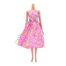 Barbie Doll Gift Baby Toys Handmade Party Doll's Dress Clothes Gown Princess Wedding Clothes(China)