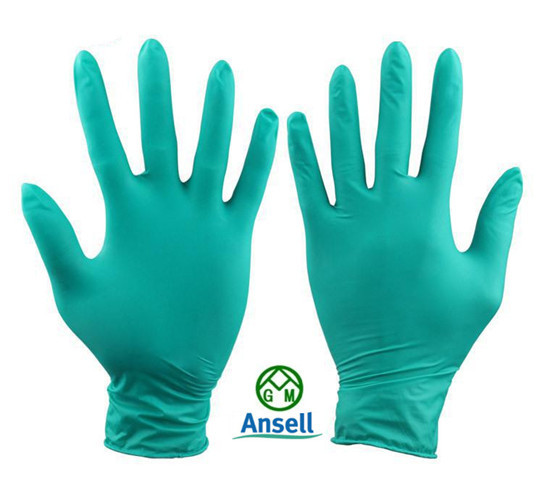 2016 new work gloves Ansell nitrile rubber gloves dust-free latex gloves industrial medical laboratories<br><br>Aliexpress