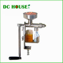 EU USA Stock Stainless Steel Nut Seed Oil Expeller hand operated for Natural edible oil DIY