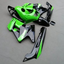 Motorcycle ABS Fairing For Kawasaki ZZR250 ZZR 250 ZZ-R250 2007 - 2009 2009 07 08 09 Fairings Kit Bodywork Green UV Painted(China)