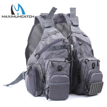 Maximumcatch Fly Fishing Mesh Vest Adjustable Mutil-Pocket Outdoor Sport Backpack Fly Fishing Jacket