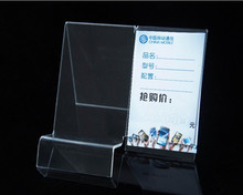 New style fashion clear Acrylic Mobile cell Phone display stand Holder racks 50pieces/lot