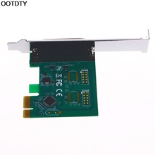 Parallel Port DB25 25Pin LPT Printer to PCI-E Express Card Converter Adapter 1pc #L059# new hot
