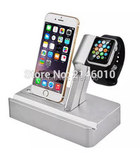 New Charging Watch Dock Stand Rechargeable Cradle Bracket Accessories For Apple iPad Watch iPhone Holder(China)
