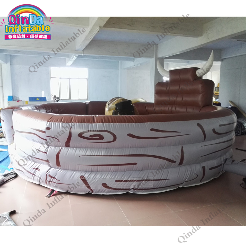 inflatable mechnical bull mat79