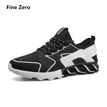 Fine Zero 2018 Men air mesh tenis trainers spring summer Shoes Mens Sport Sneakers Male Jogging Shoes Laces Athletic Sneakers(China)