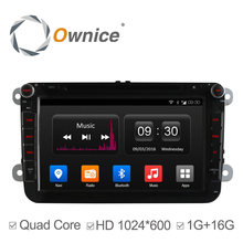 Ownice C300 Android 4.4 4 Core Car DVD GPS Radio for VW Golf 5 6 Polo Passat Jetta Tiguan Touran Skoda Octavia Seat support DAB+(China)
