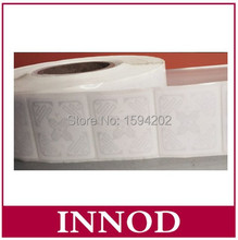 Low Cost Passive Impinj Monza 4E UHF RFID Label with Wet Inlay Self adhesive Tag  gen2 UHF epc 496bits large memory long