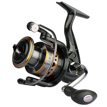 Spinning Reel 5BB + 1RB Fishing Reel 1000-7000 Series Boat Rock Fishing Wheel Aluminum Spool