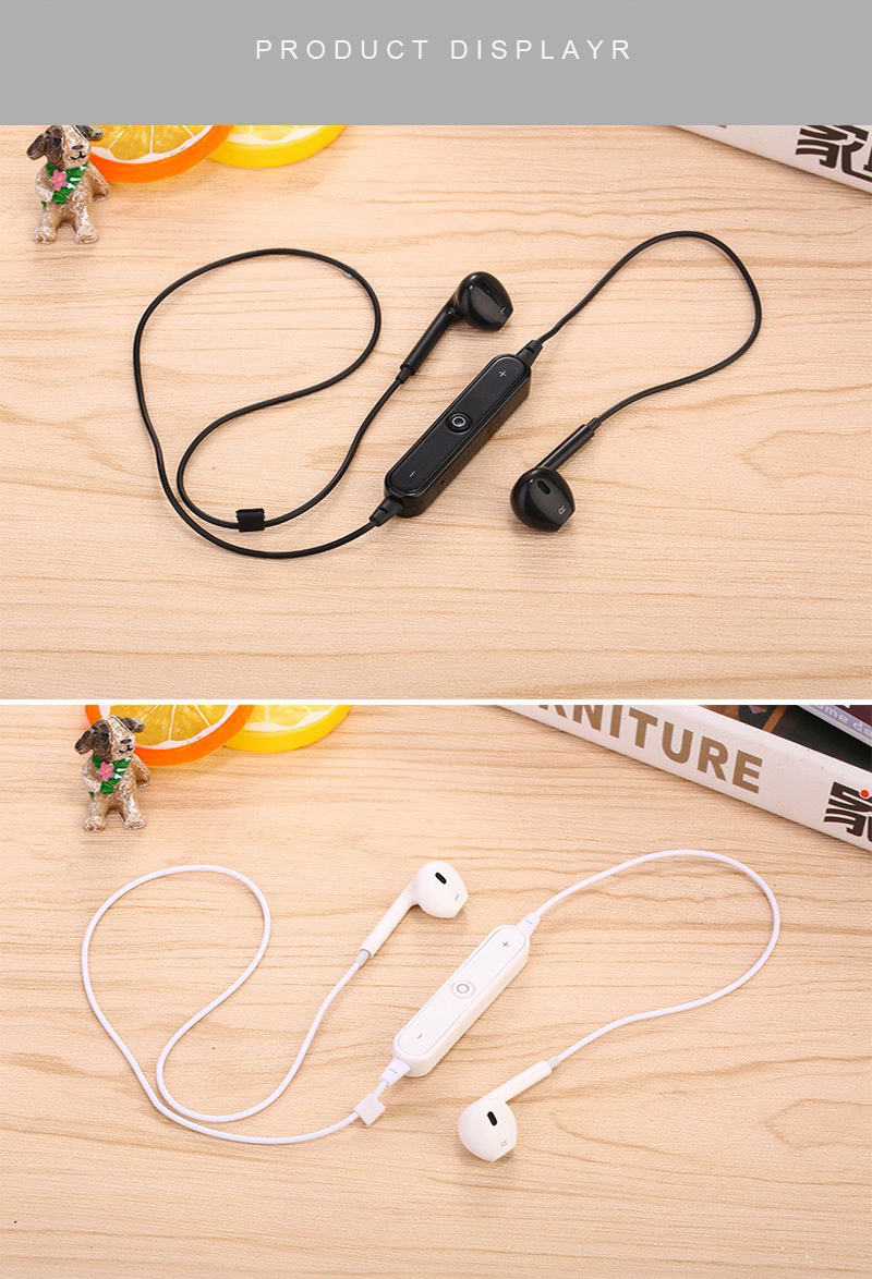 Wireless Headphone Bluetooth Earphone Headphone Neckband Sport Earphone High Fdelity Sound Earbuds with Mic for iPhone Samsung