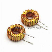 5Pcs 33uH 3A Toroid Core Inductor Wire Coil Wind Wound 13mm Outer Dia for DIY