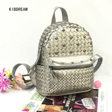 KIBDREAM 2017 Spring And Summer Institute Of The New Style Of Western Style Backpack Free Shipping(China)