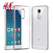 H&A Silicone Case For Xiaomi Redmi NOTE 4 4 Pro 4X Transparent Phone Back Cover Soft TPU Coque For Redmi NOTE 4x PRO Cases