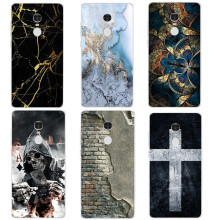 Marble wall cross Case For Xiaomi Redmi 3 3S 4A 4X 4 4S Note 3 Note 4 4X Case Back cover