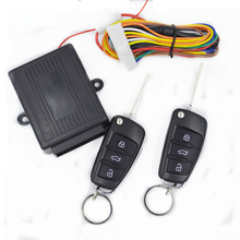 Free shipping 2017 New universal keyless entry system flip key remote central lock locking system
