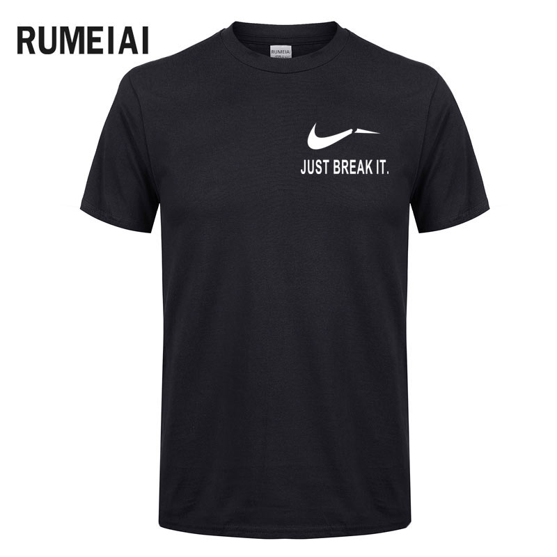 RUMEIAI Fashion Men T-Shirts Male US Size T shirt Homme Summer cotton Short Sleeve T Shirts Brand Men's Tee Shirts Man Clothes 8