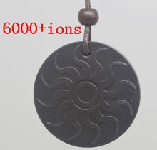 free shipping Quantum Scalar Energy Pendant 6000 ~ 7000 ions with Test Video with Card for each pendant quantum science pendant(China)