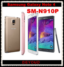 "Samsung Galaxy Note 4 N910P Sprint Original Unlocked 4G LTE GSM Android Mobile Phone Octa Core 5.7"" 16MP RAM 3GB ROM 32GB(China)"