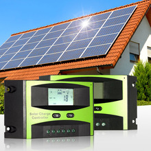 20A 24V intelligent Solar Charge Controller for solar panels battery PWM Charging Temperature Compensation Overload Protection