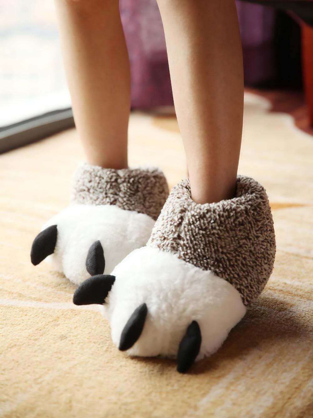 funny indoor slippers