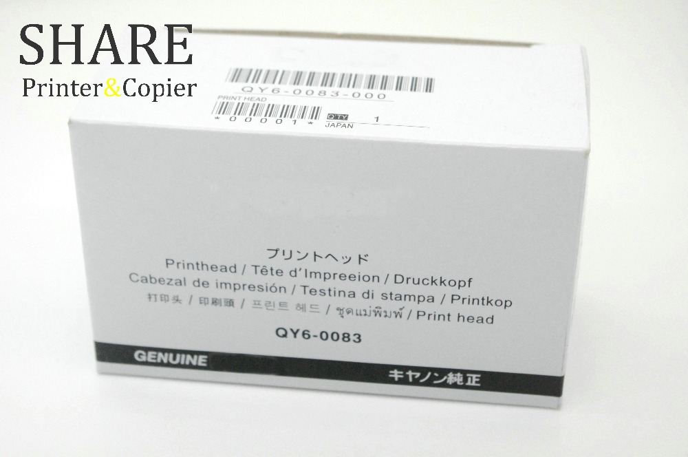 SHARE 1  QY6-0083 Printhead Printhead Used  for Canon MG6310 MG6320 MG6350 MG6380 MG7120 MG7150 MG7180 iP8720 iP8750 iP8780 7110<br>