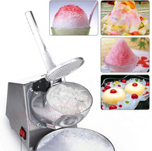 Free shipping Electric Ice crusher Block shaving machine Shaved ice machine(China)