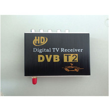 M-689 Car TV Tuner DVB-T2 Digital TV receiver Digital TV BOX Receiver Mini TV Box work in Russia, Colombia,Thailand(China)