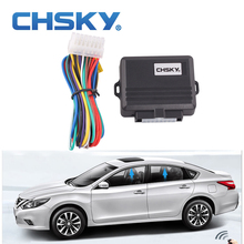CHSKY Car Alarm Systems Universal Car Power Window Roll Up Closer For 4 Doors Auto Close Windows Car Alarm Module Car Protector(China)