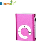 Factory Price Hot Selling Good Quality Mini Clip Metal USB MP3 Player Support Micro SD TF Card Music Media  Free Shipping Jan6