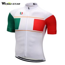 Italy T- Shirt Cycling Jersey WEIMOSTAR Men Bicycle Short Sleeve Cycling Clothing Racing Sport mtb Roupa Ropa De Ciclismo