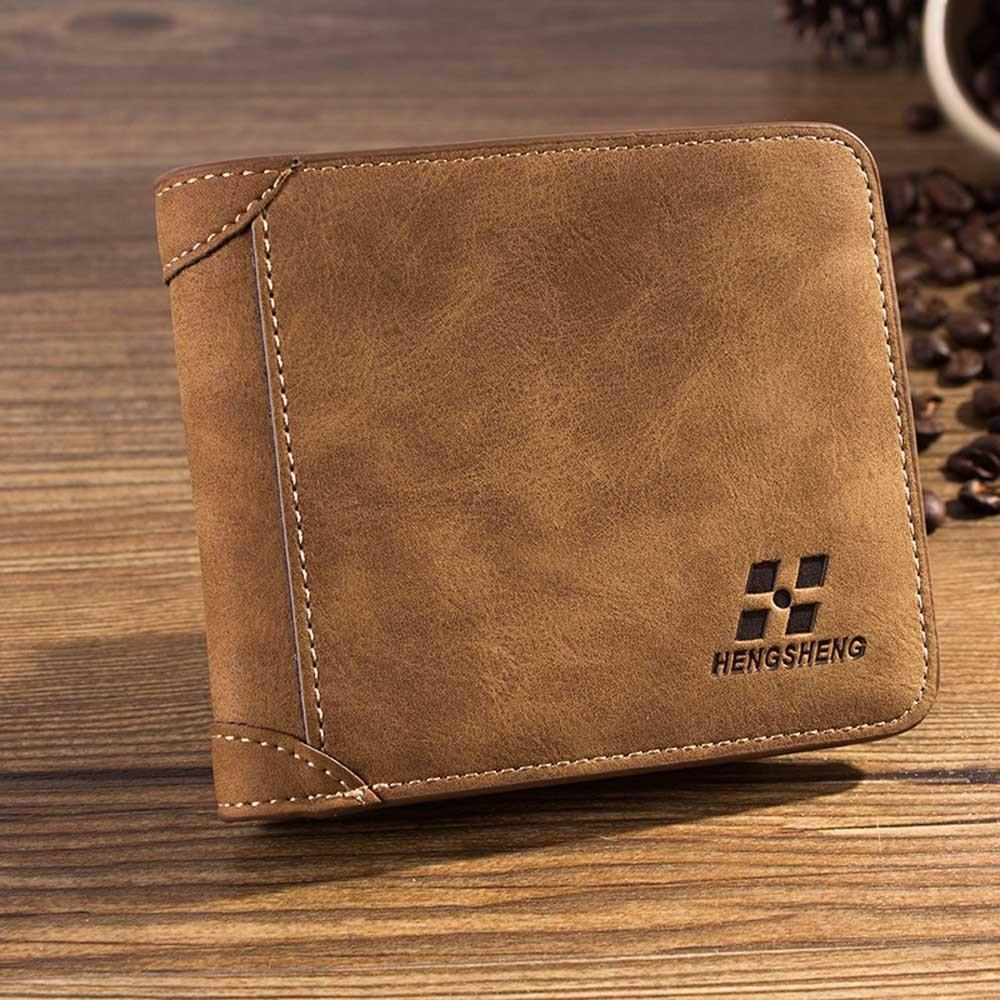 Splendid Leather Wallet Men Dull Polish, 2016 Brand Coin Wallet Small Clutches Mens Purse Coin Pouch Short Wallet Men<br><br>Aliexpress