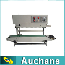 Plastic Film Sealing Machine +Vertical Sealing +Date Printing +Band sealer