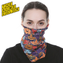 Multifunction Neck Tube cartoon Seamless bandana headwear motoracycle headband scarf Cap mask Christmas gift