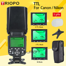 TRIOPO TR-988 Professional Speedlite TTL Camera Flash with *High Speed Sync* for Canon and Nikon Digital SLR Cameras