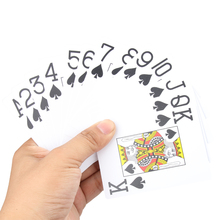 Hot Sale Texas Plastic Playing Cards Waterproof Poker Cards Pokerstar Party Magic Trick Game Tool P5(China)