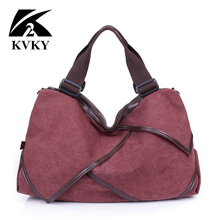 Big Canvas Bag Tote Women Bags Handbags Patchwork Women Shoulder Bag New Fashion Sac A Main Femme De Marque Casual Bolsos Mujer