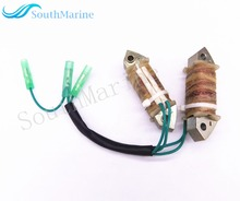 Boat Motor Coil Charge A & B Assy F15-07000400 for Parsun 4-Stroke F9.9 F13.5 F15 Outboard Engine, free shipping